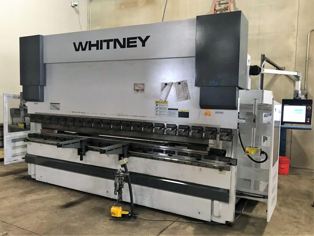 Whitney-(Piranha)-198-Ton-x-13-180-13P-6-Axis-CNC-Press-Brake