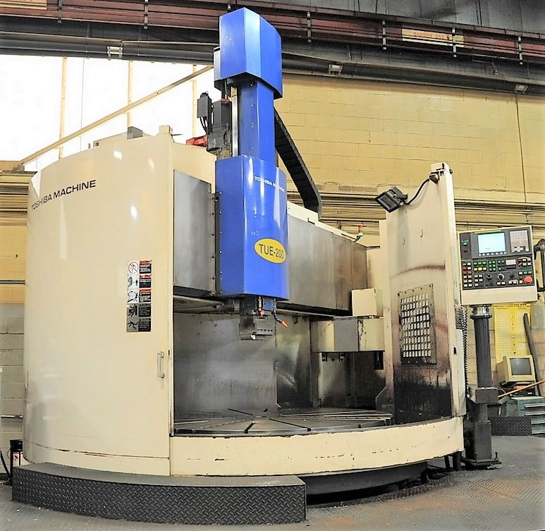 78-Toshiba-TUE-200-CNC-Vertical-Boring-Mill