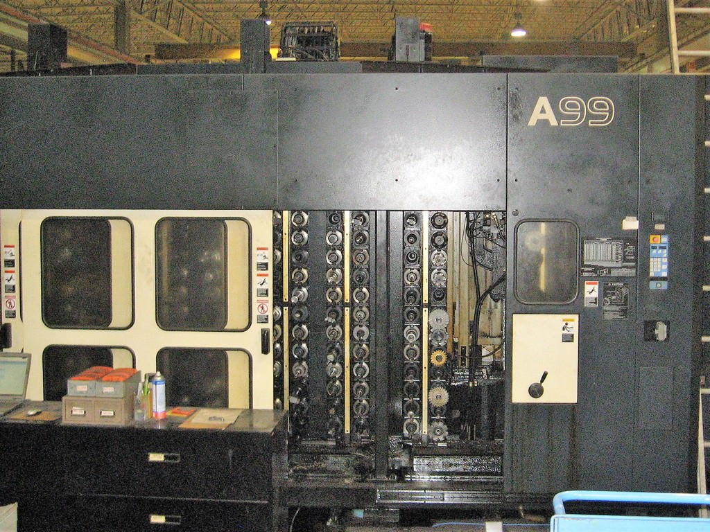 Makino-A99-4-Axis-CNC-Horizontal-Machining-Center