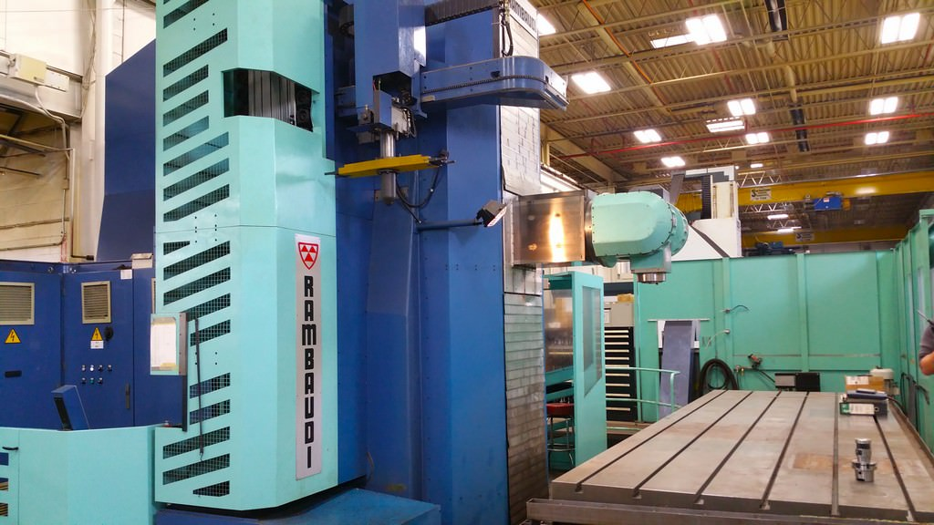 Rambaudi-MP212S-Ram-Type-Floor-Type-Horizontal-Boring-Mill