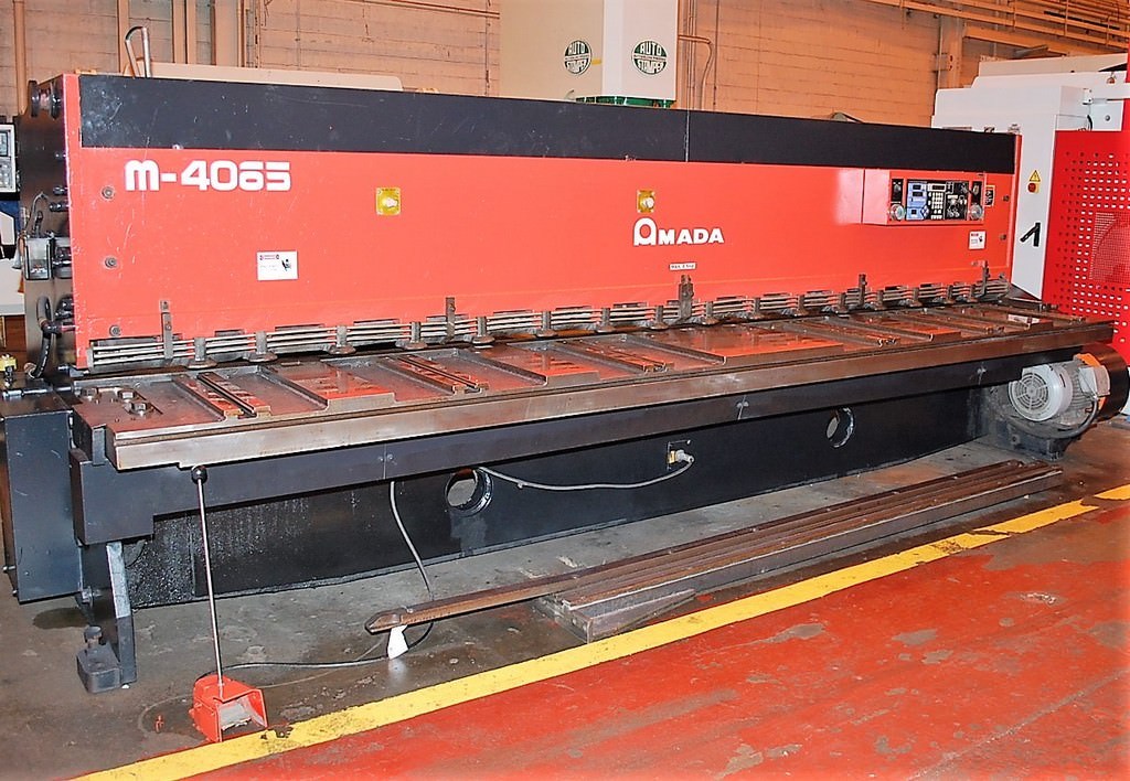 Amada-M4065-1-4-x-13-CNC-Mechanical-Squaring-Shear