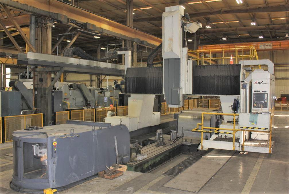 Cincinnati-MAG-U-5-CNC-5-Face-Travelling-Gantry-Rail-Type-Milling-Machine
