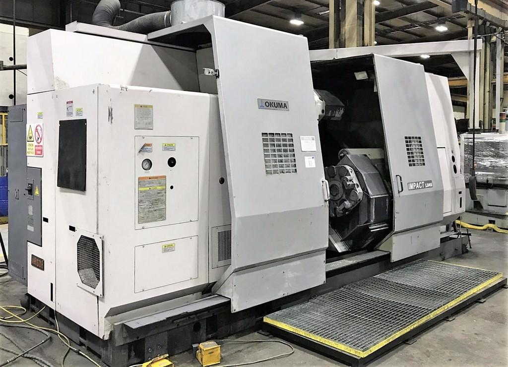 OKUMA-LU-45M-CNC-Turning-Center-with-Live-Milling