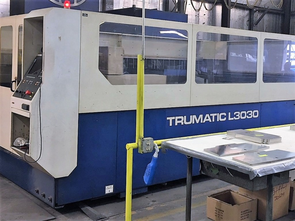 Trumpf-4000-Watt-L3030-CNC-Flying-Optic-Laser