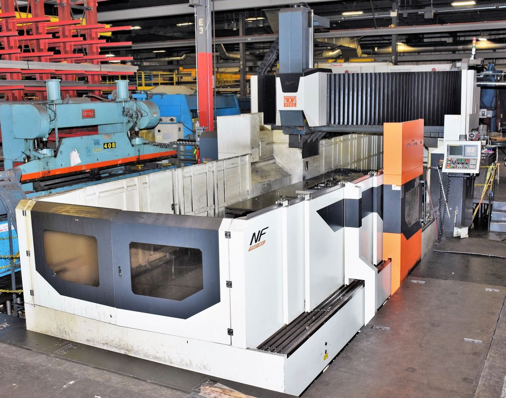 VISION-WIDE-V-TEC-NF6226-5-Face-CNC-Double-Column-Machining-Center