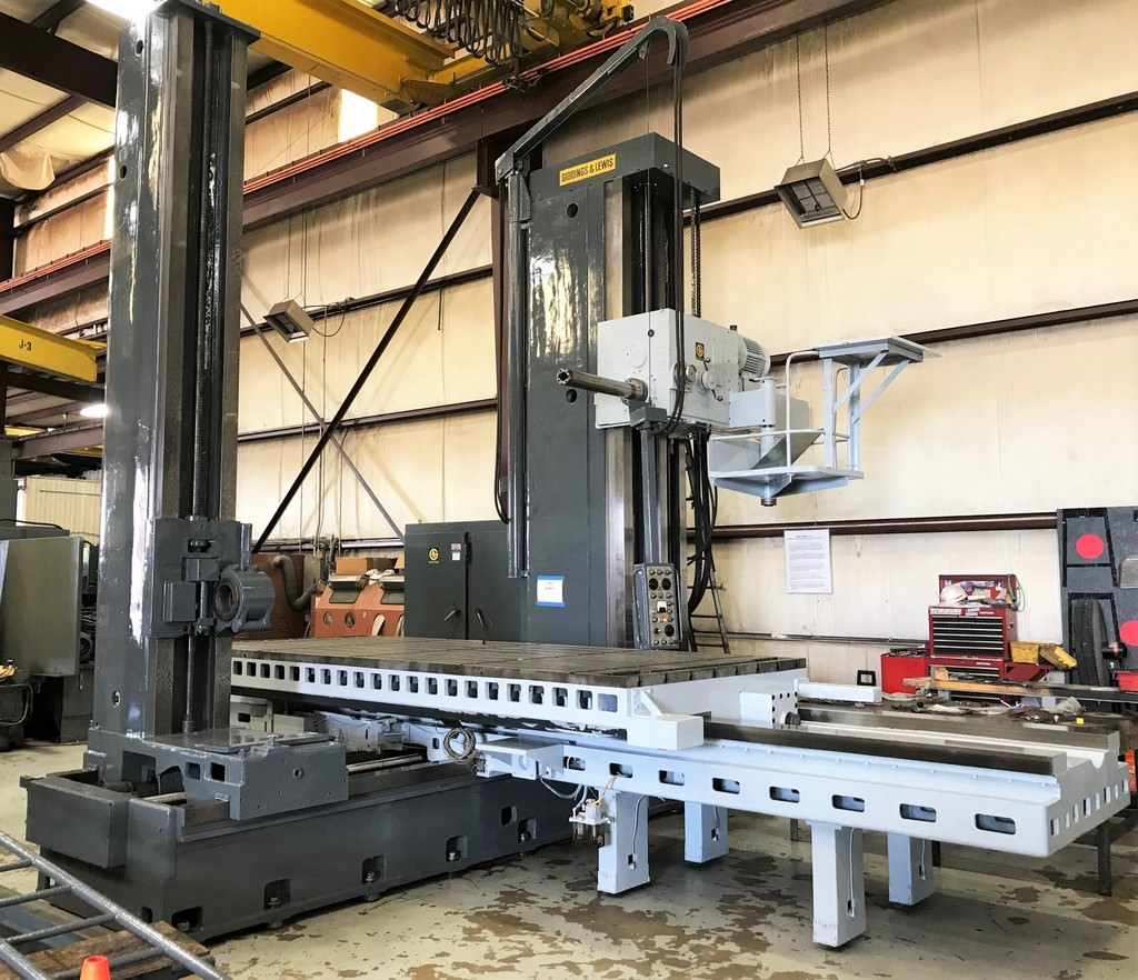 Giddings-&-Lewis-5-65-H5-T-Table-Type-Horizontal-Boring-Mill
