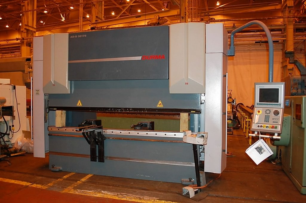 Durma-AD-s-30175-192-Ton-x-10-CNC-8-Axis-CNC-Hydraulic-Press-Brake