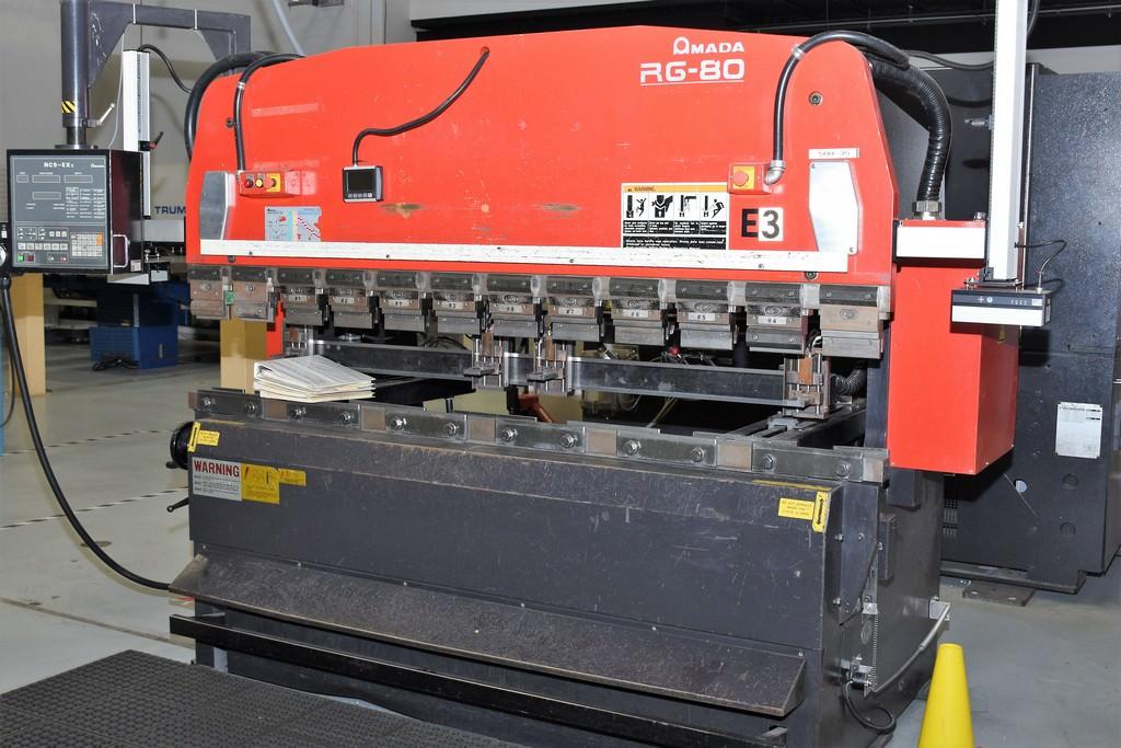 Amada-88-Ton-RG80-3-Axis-CNC-Upacting-Hydraulic-Press-Brake