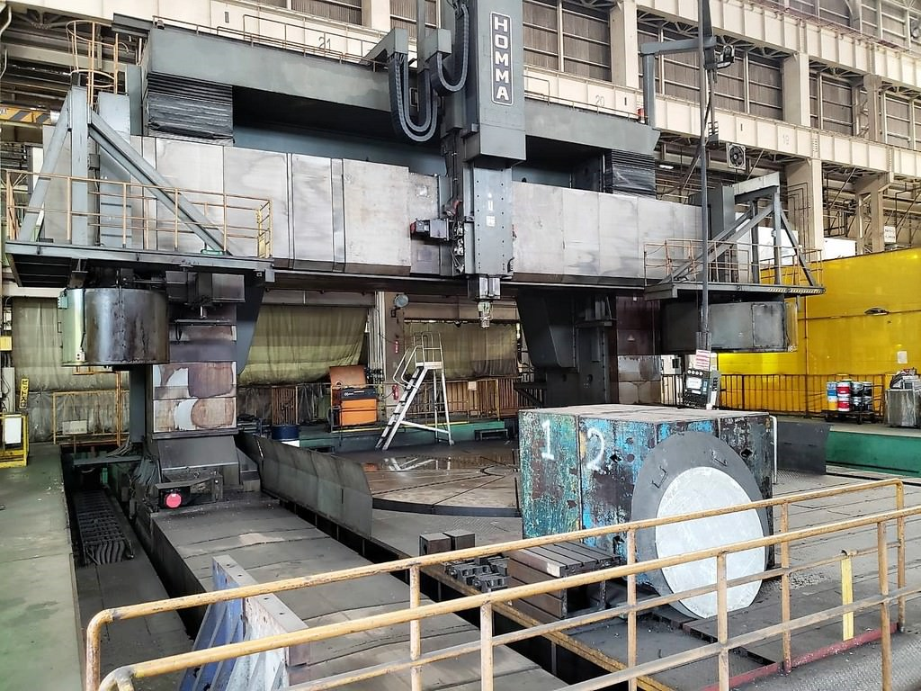 HOMMA-HTM-7.0-9.0-CNC-Vertical-Boring-Mill-w-Milling