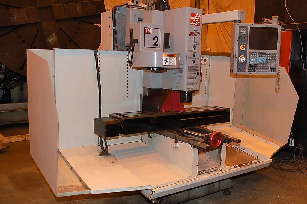 Haas-TM-2-CNC-Toolroom-Mill