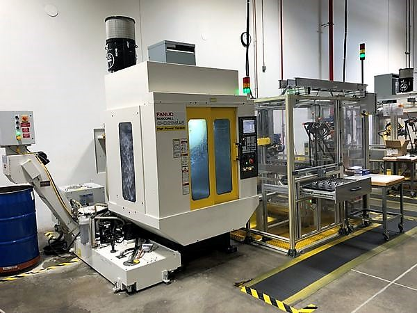 FANUC-Robodrill-Alpha-D21MiA5-Production-Machining-Cell