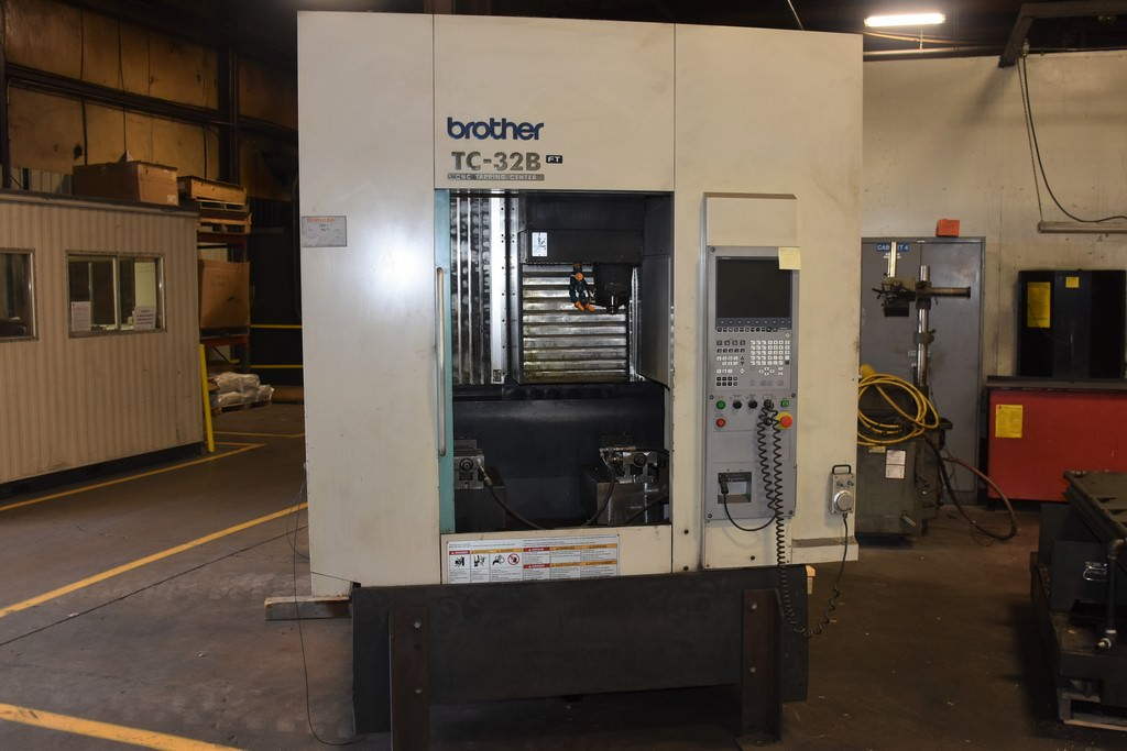 Brother-TC-32B-FT-CNC-Vertical-Machining-Center