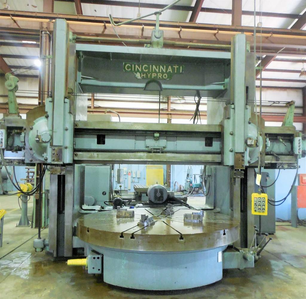 108-Cincinnati-Hypro-Vertical-Boring-Mill