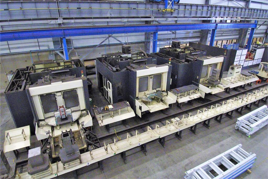 Makino-A-77-Machining-Cell-4-Axis-CNC-Horizontal-Machining-Center