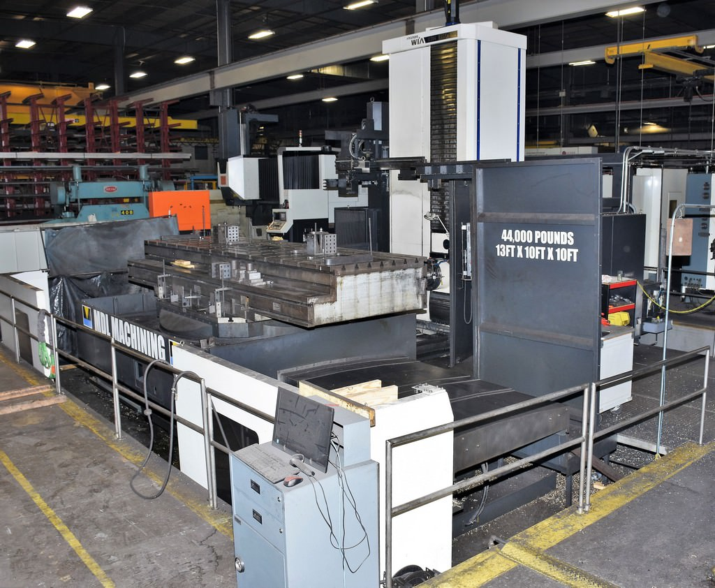 Hyundai-Wia-KBN-135CL-5.3-CNC-Table-Type-Horizontal-Boring-Mill