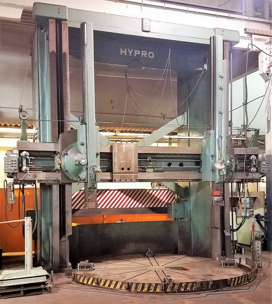 144-Giddings-&-Lewis-Hypro-Vertical-Boring-Mill