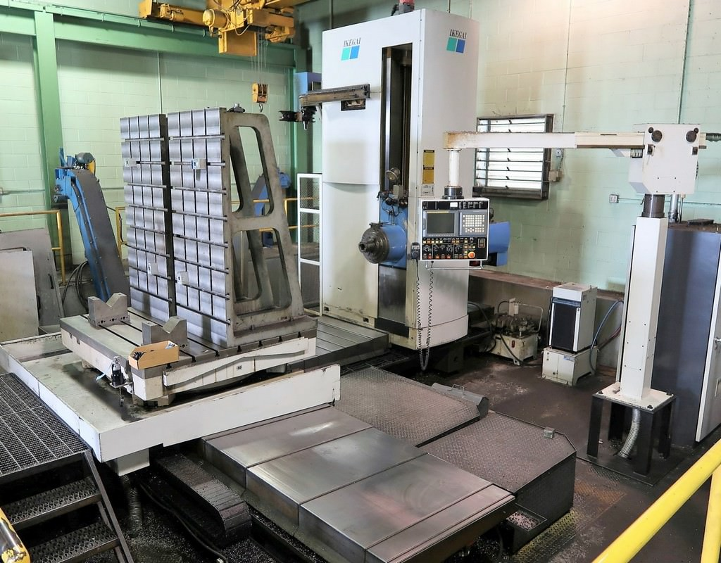 SNK-Ikegai-NB130P-5.12-CNC-Table-Type-Horizontal-Boring-Mill