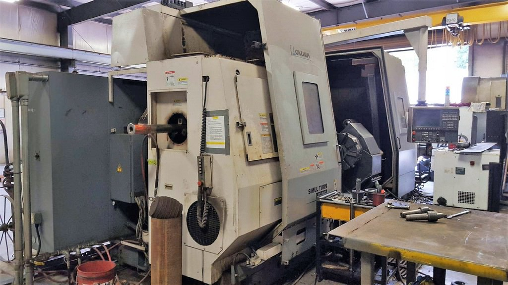 OKUMA-LOC-500-2000SC-CNC-Hollow-Spindle-Gap-Bed-Lathe