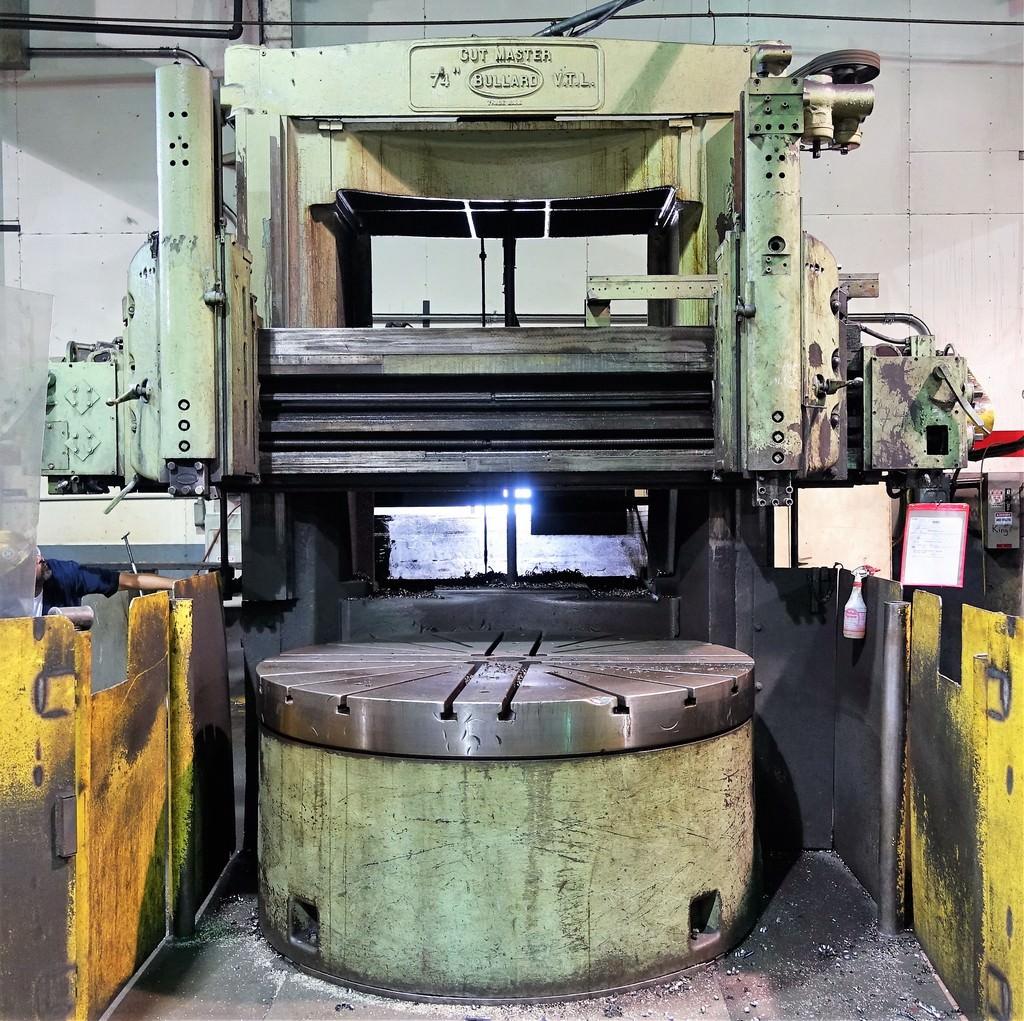 Bullard-74-Cutmaster-Vertical-Boring-Mill