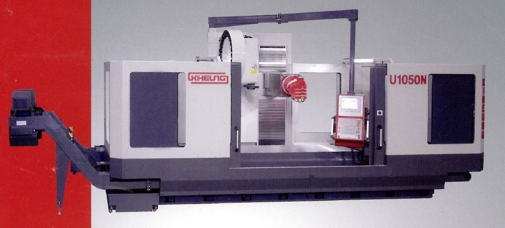 Kiheung-KNC-U1050N-Universal-CNC-Horizontal-Bed-Type-Milling-Machine