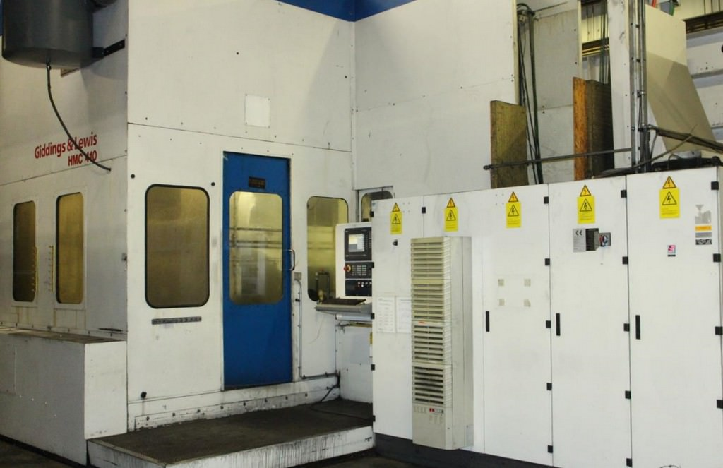 GIDDINGS-&-LEWIS-HMC-410-CNC-Horizontal-Machining-Center-w-Boring-Spindle