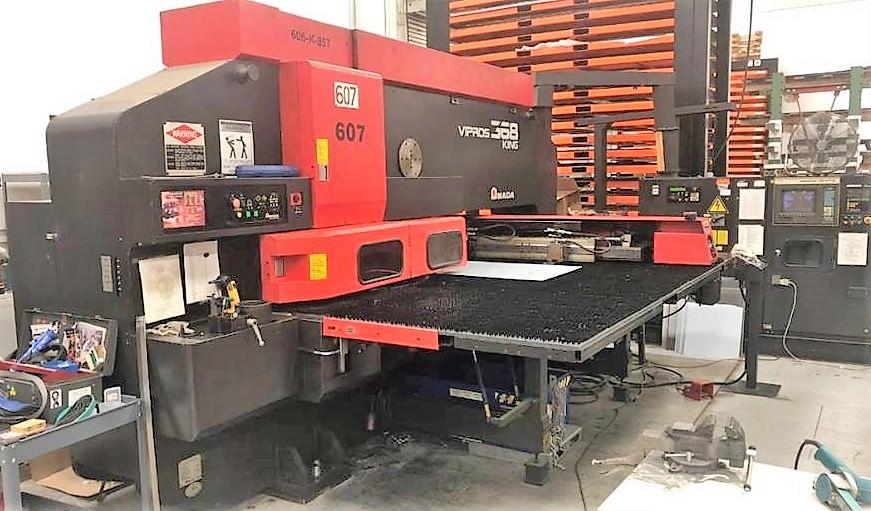 Amada-Vipros-King-368-33-Ton-CNC-Turret-Punch-Press