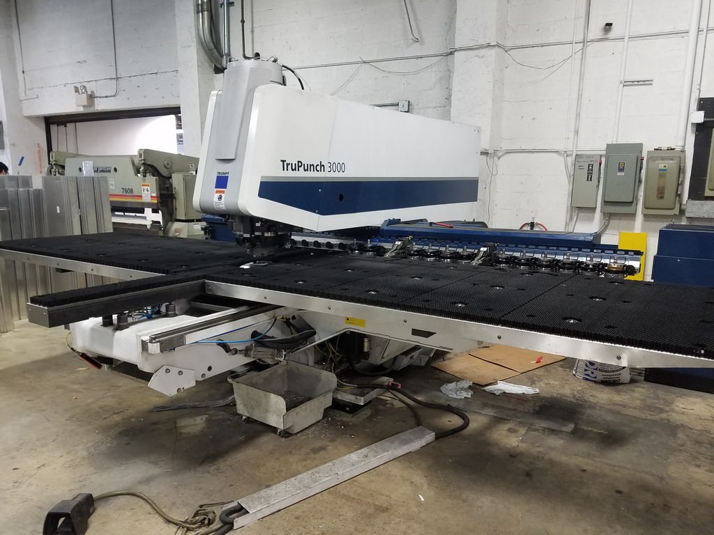 TRUMPF-TruPunch-3000-22-Ton-CNC-Servo-Electric-Punching-System