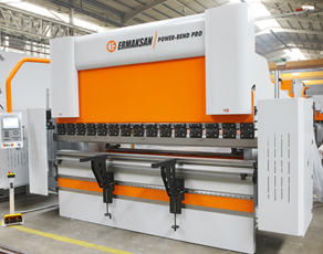242 Ton Ermak Power Bend Falcon 4-Axis CNC Press Brake