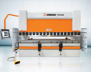 149 Ton Ermak Speed Bend SB 3100-135 6-Axis CNC Press Brake