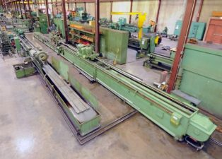 Barnes Model 6D Horizontal Honing Machine