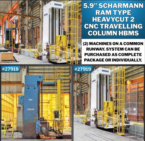 Large Ram Type Twin Column CNC Floor Type Horizontal Boring Mills