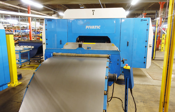 Pivatic PivaPunch Electric Punching Center For Coil