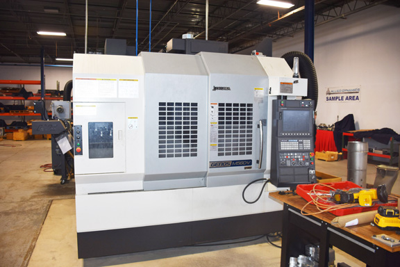 OKUMA Genos M560-V CNC Vertical Machining Center #28563