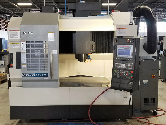 Okuma Genos M560-V CNC Vertical Machining Center #28564