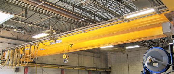 2 Ton Spantec Double Girder Bridge Crane #28727