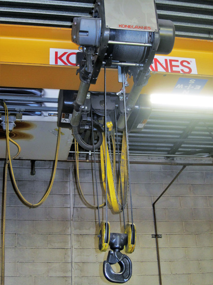 3 Ton Kone Single Girder Bridge Crane #28728