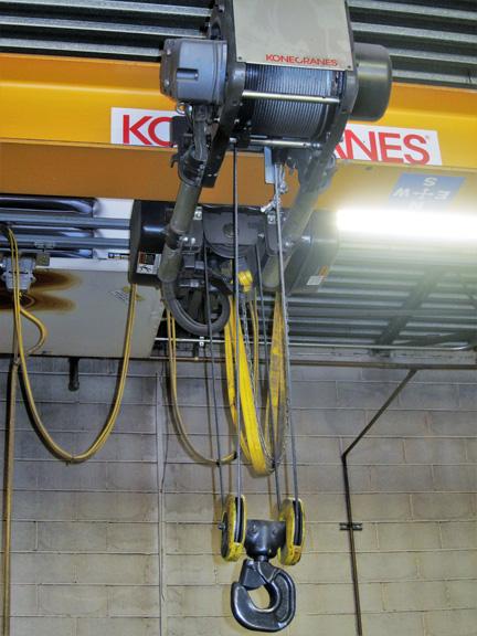 3 Ton Kone Single Girder Bridge Crane #28728