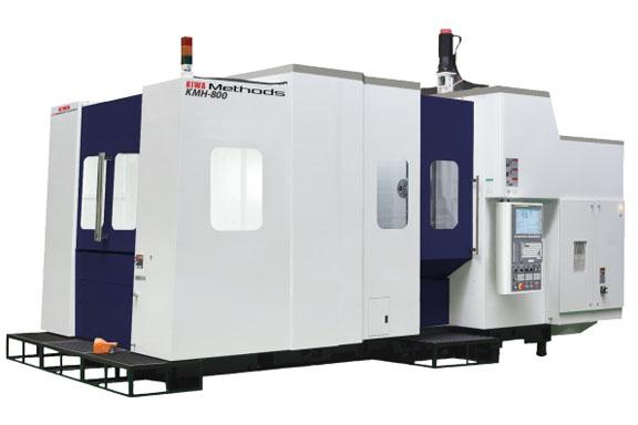 Kiwa CNC 4-Axis Horizontal Machining Centers