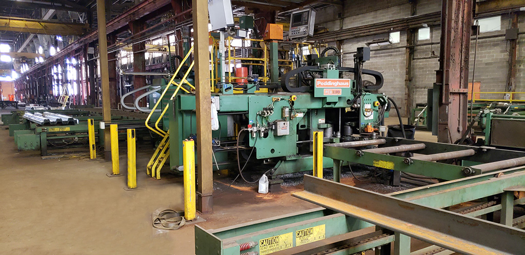 Great Selection of Structural Steel Machines!
