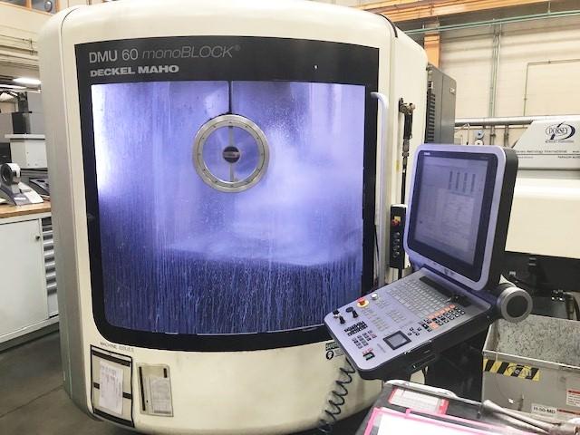 5-Axis CNC Vertical Machining Center