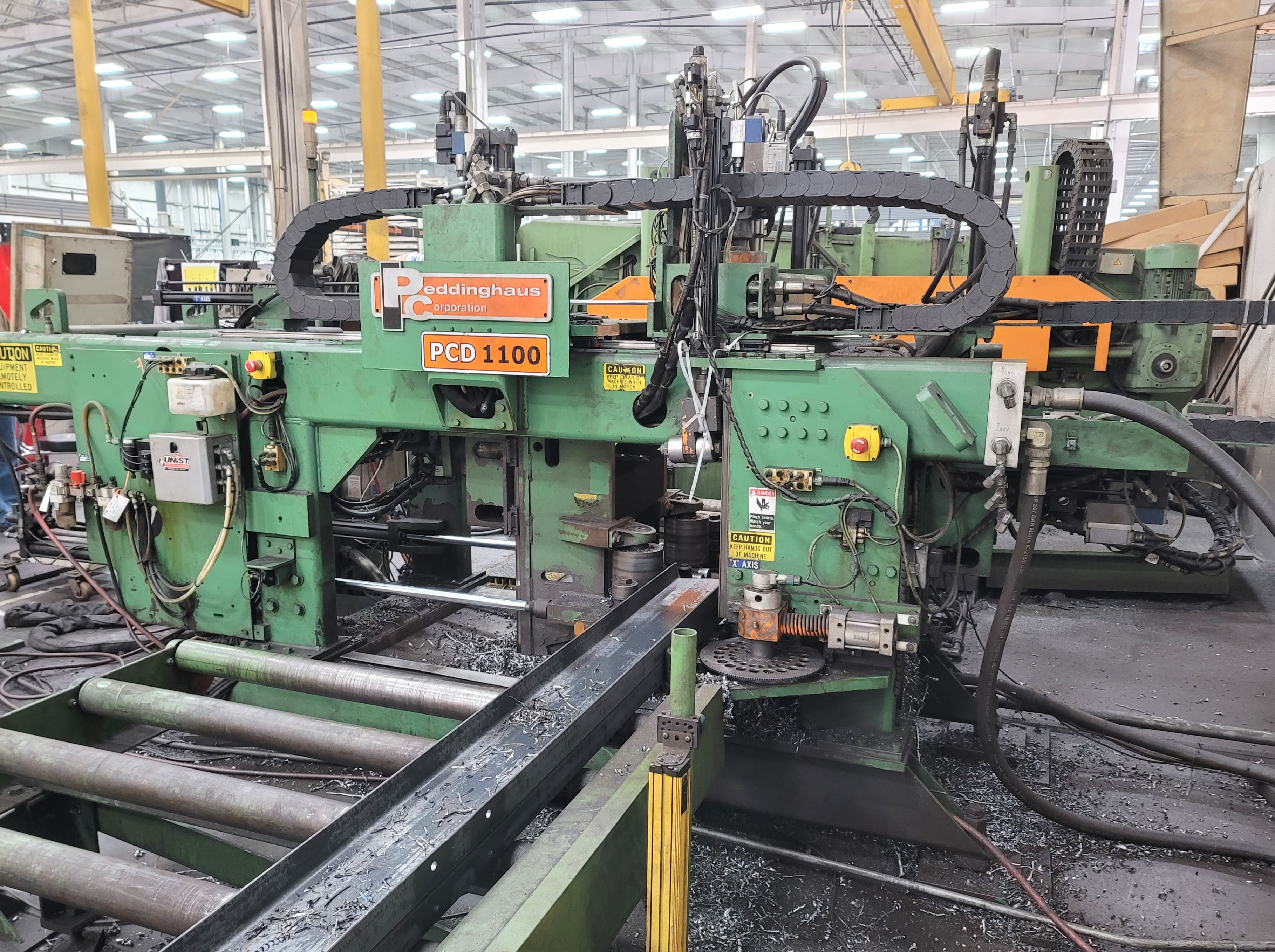 Used CNC Beam Drill Lines