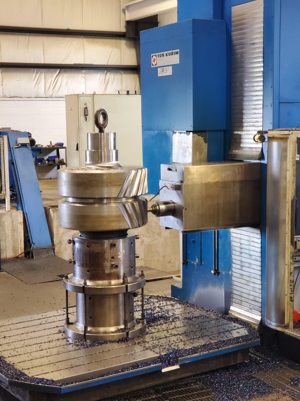 Used CNC Horizontal Boring Mill