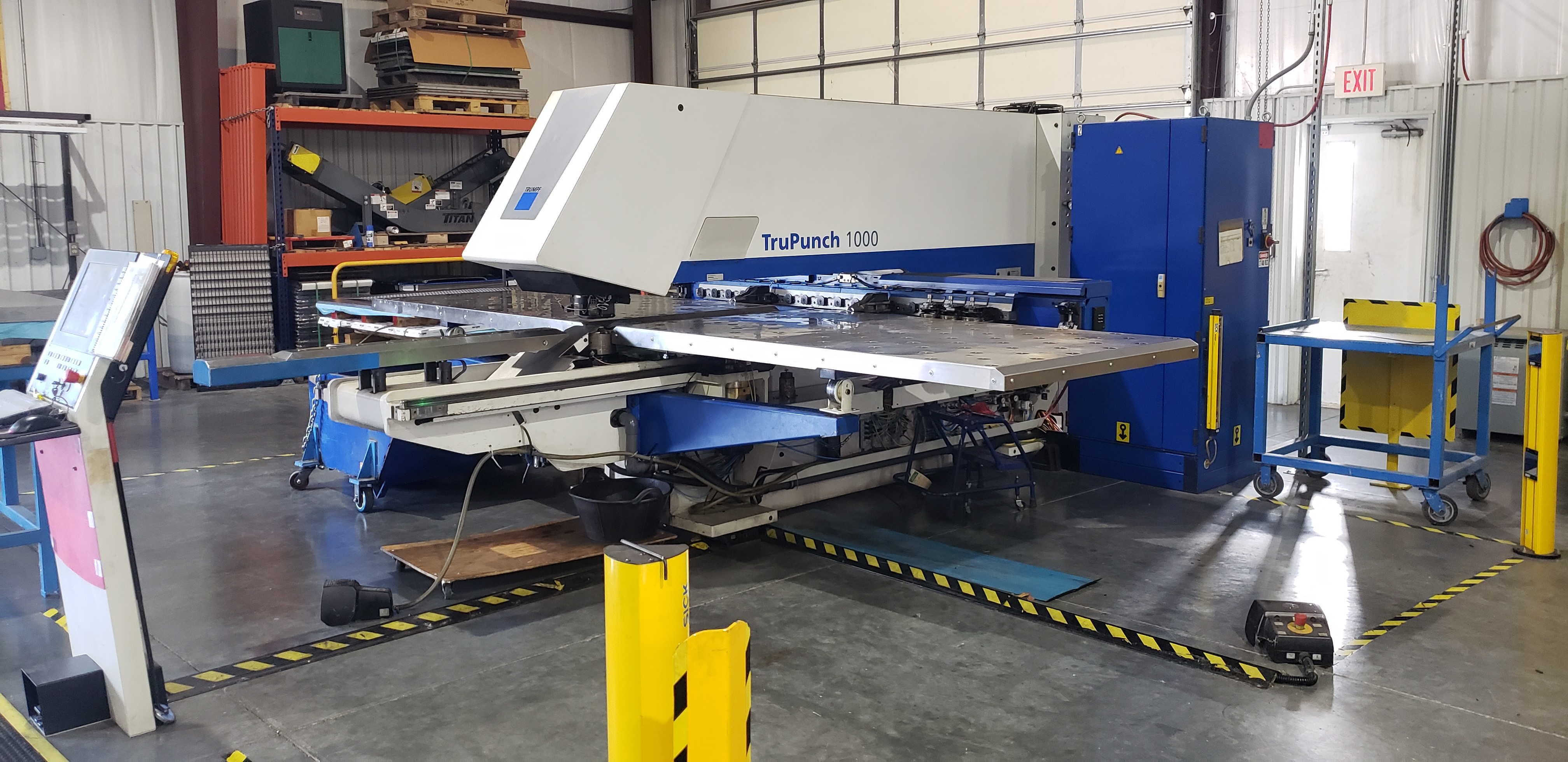 Used CNC PUNCHES