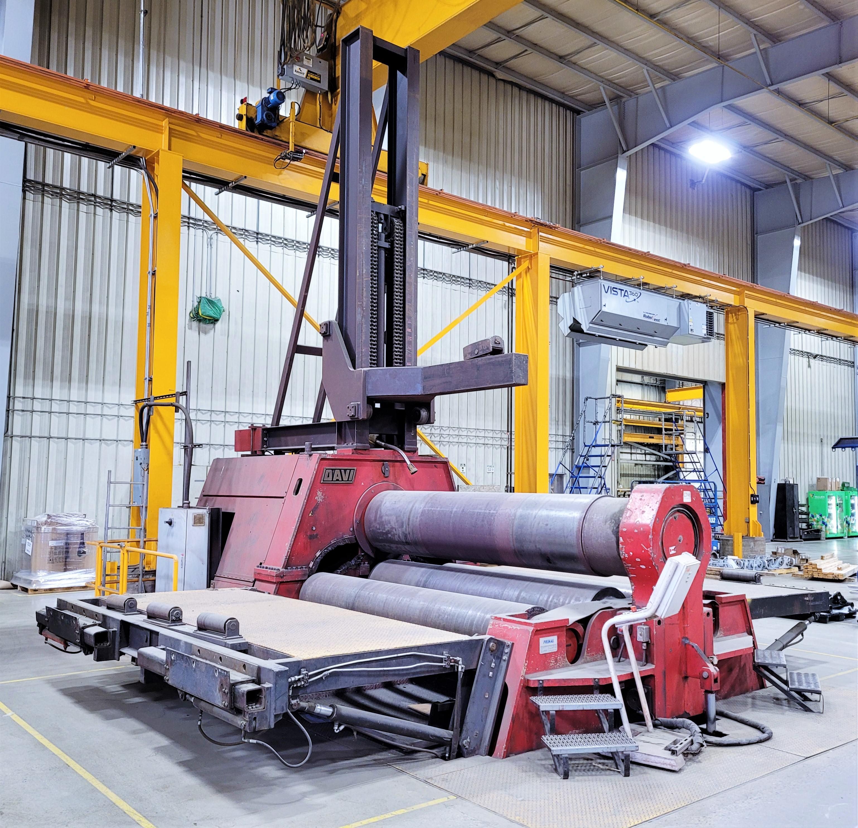 Used CNC Plate Rolls