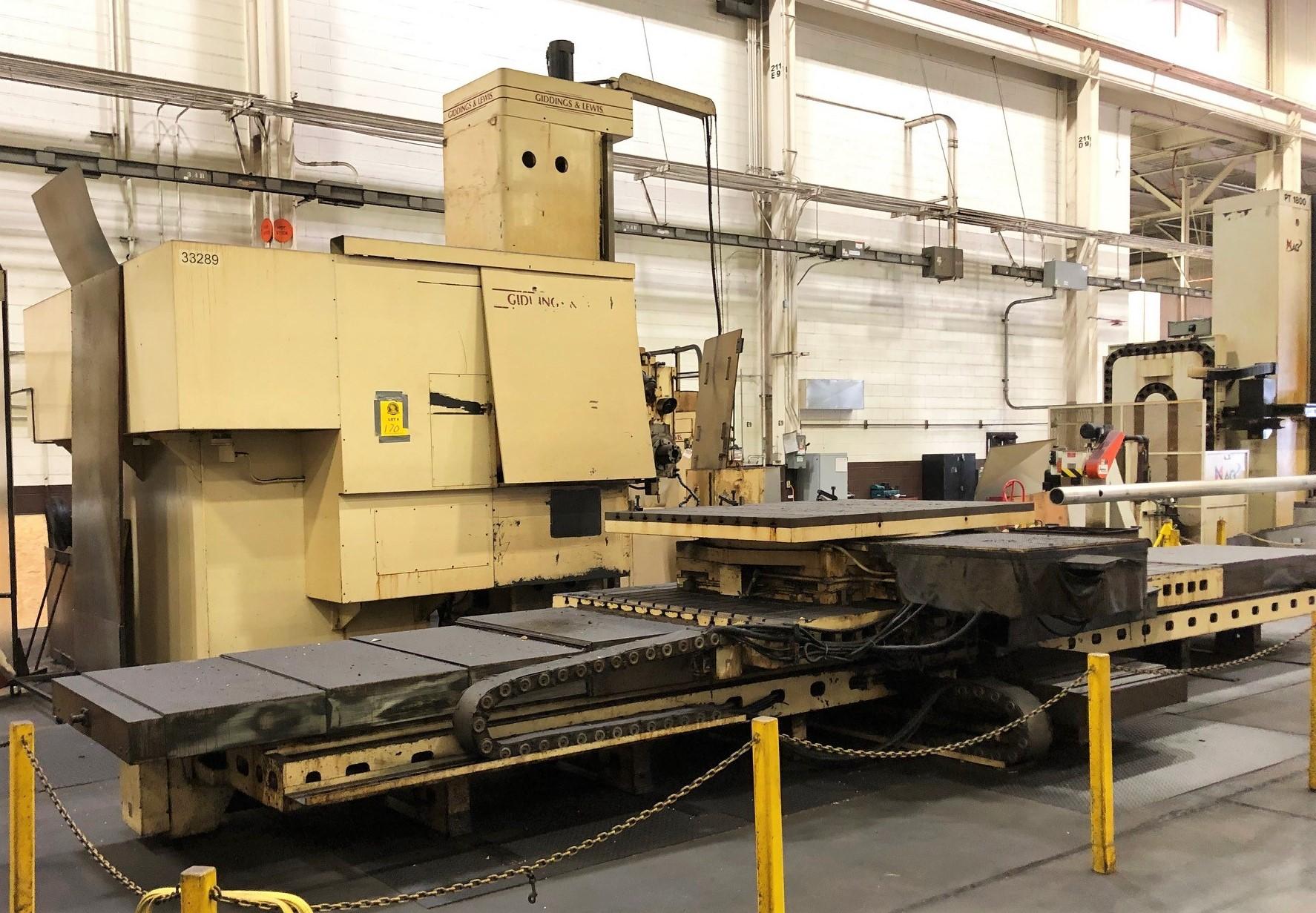 Used CNC HORIZONTAL BORING MILLS