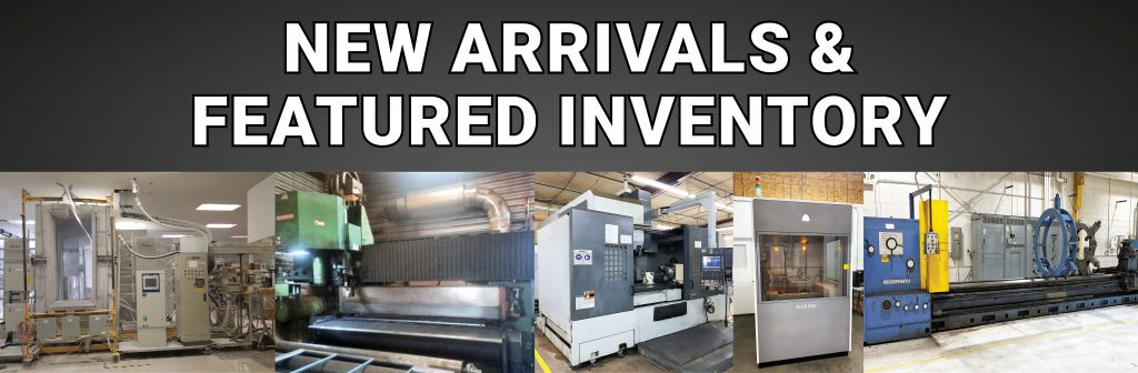 Paint Systems, CNC Punches, 3D Printers, Lathes and More!