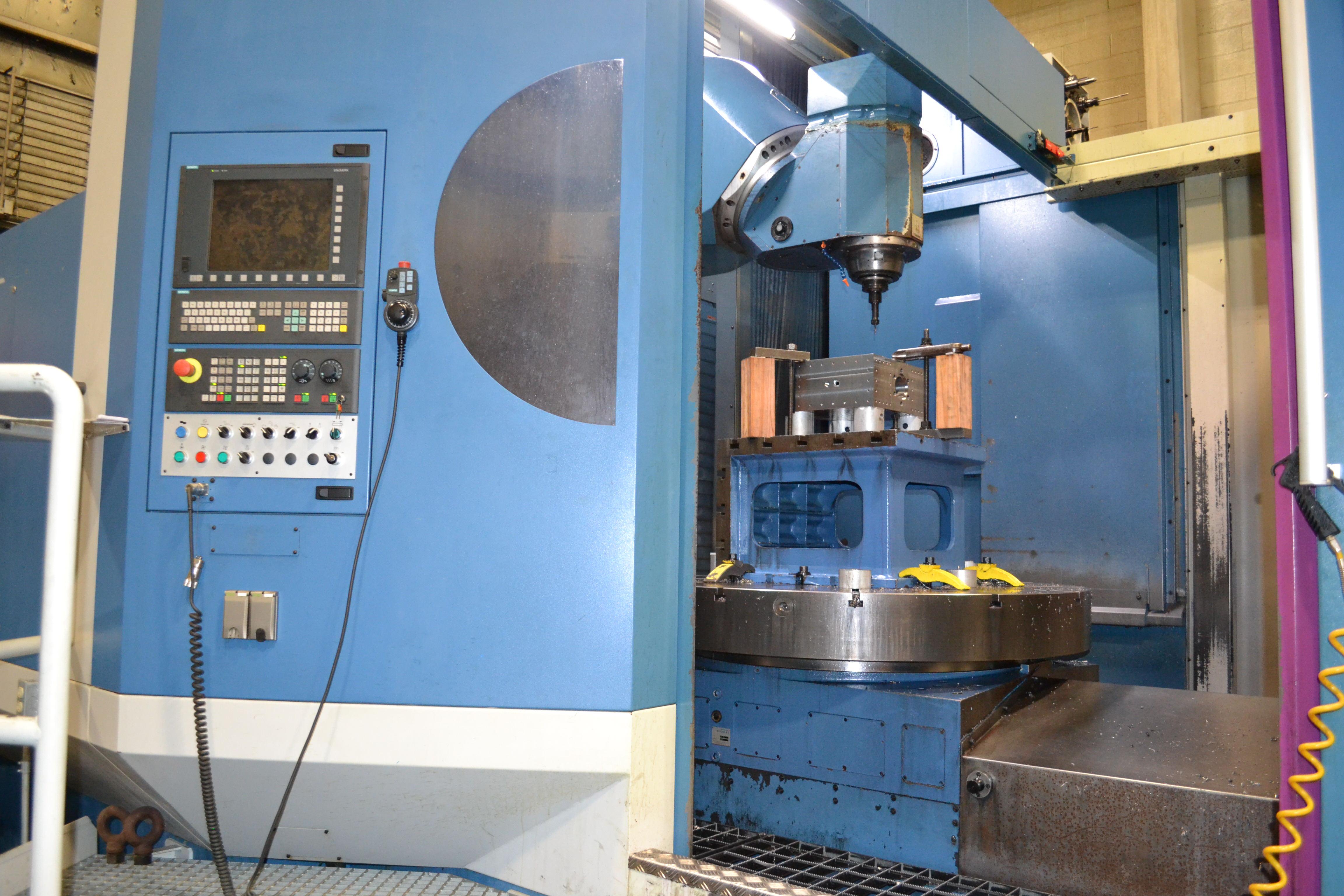 Used CNC VERTICAL BORING MILLS